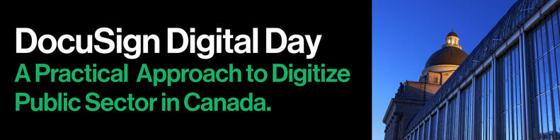 A Practical Approach to Digitize Public Sector in Canada