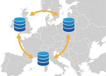 DocuSign EU Data Center Map