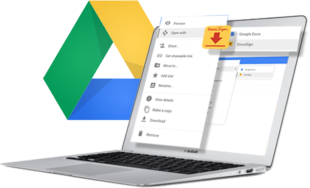 DocuSign from your Google Drive