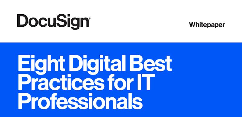 8 Digital Best Practices for IT Professionals