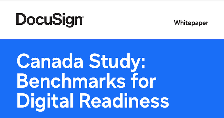 Canada Study: Benchmarks for Digital Readiness