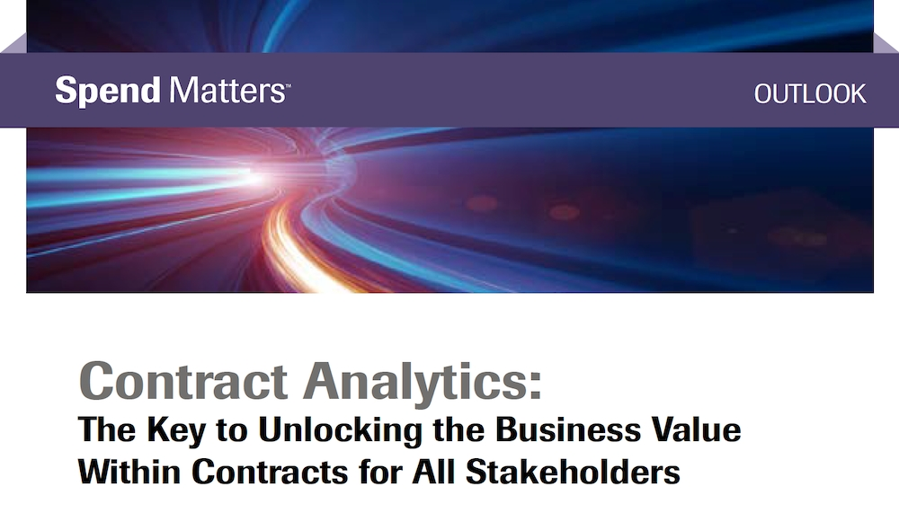 Contract Analytics - Unlocking Business Value from Within Contracts