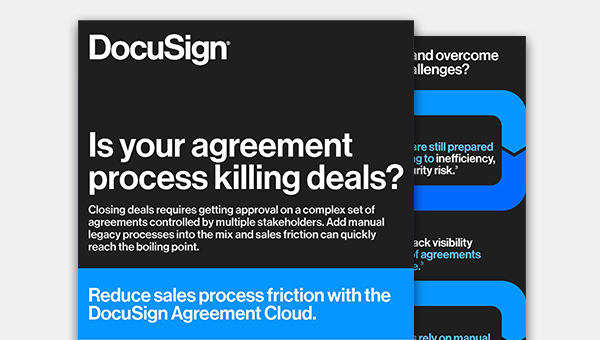 See the infographic on automating the sales contract process