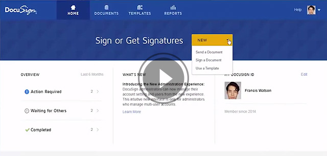 The New DocuSign Experience