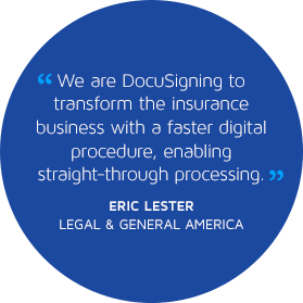 DocuSign for Insurance Carriers quote