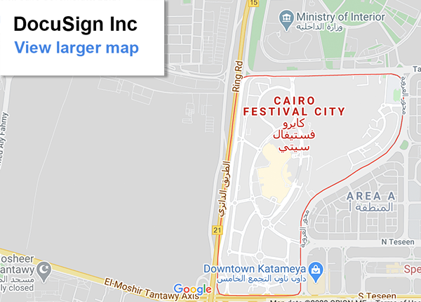 Cairo office location