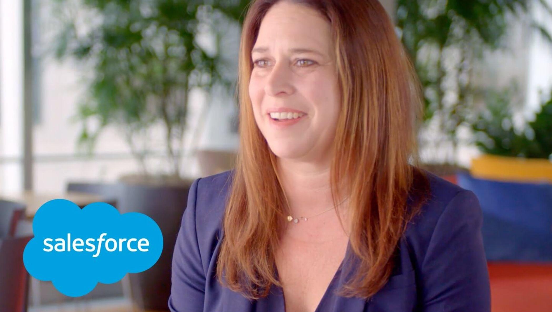 Meredith Schmidt, EVP & GM of Salesforce Essentials & SMB