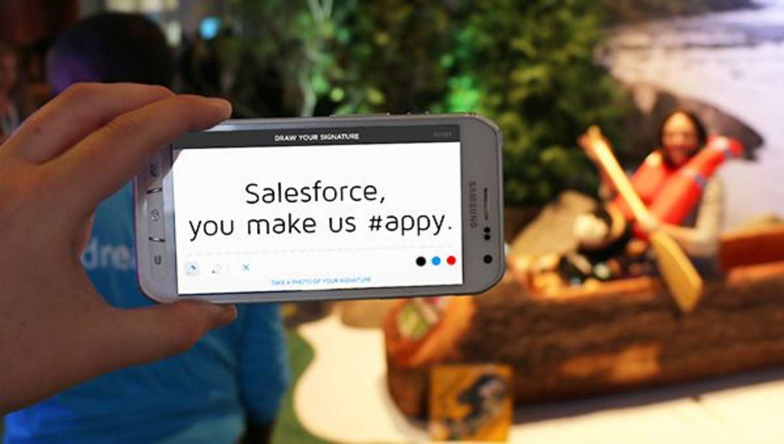 Learn about DocuSign's award from Salesforce
